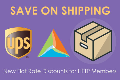 HFTP Members: Take Advantage of a UPS Discount for Your Shipping Needs