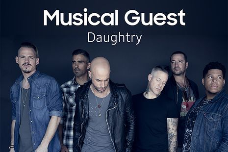 Daughtry Headlines HITEC Opening Party presented by Samsung®