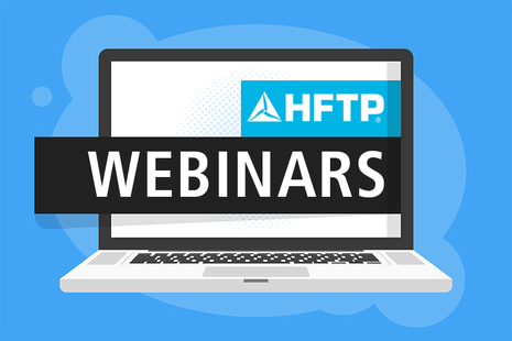 Three HFTP Webinars Taking Place in March 2020: Register Today