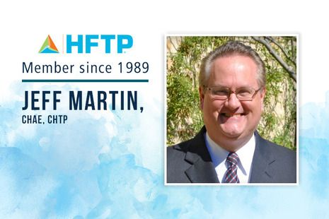 HFTP Pays Tribute to HFTP Member Jeff Martin