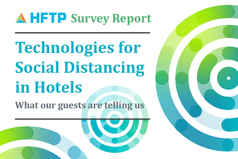Technologies for Social Distancing in Hotels: What Are Our Guests Telling Us