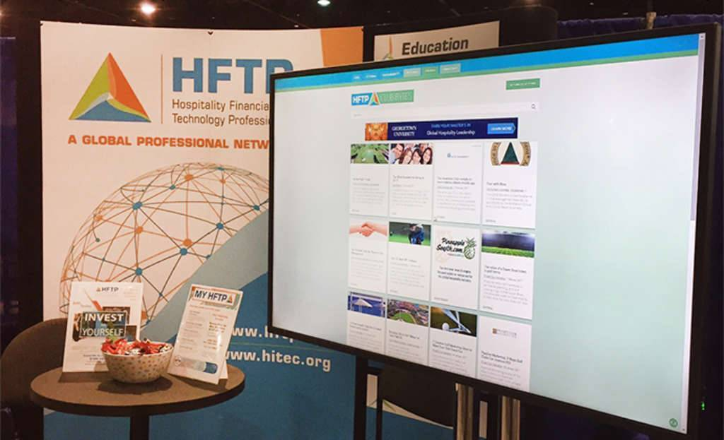HFTP Showcasing its HFTP Club Bytes Resource at the 90th CMAA World Conference