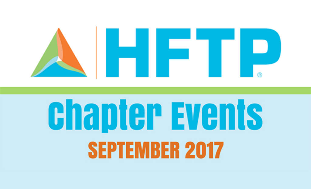 HFTP Chapter Events: September 2017