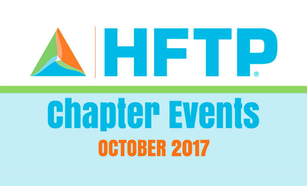 Upcoming HFTP Chapter Events: October 2017