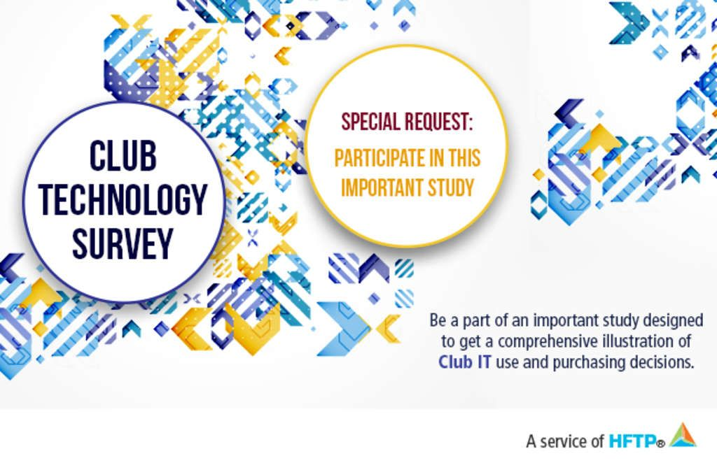 HFTP Club Technology Survey Deadline Fast Approaching