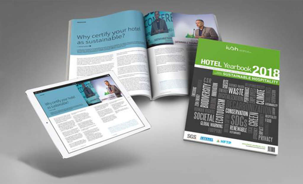 Hotel Yearbook 2018 – Sustainable Hospitality