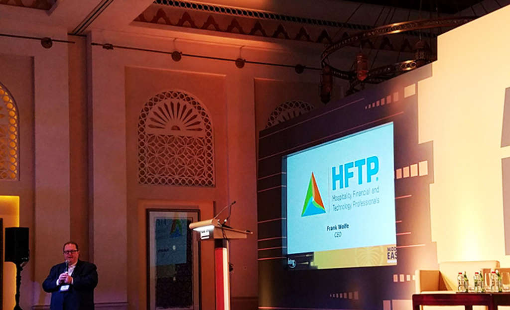 HFTP Exhibits and Sponsors HTNG Middle East Conference