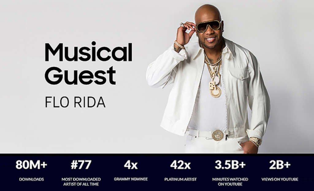 FLO RIDA to Perform at HITEC Opening Party, Presented by Samsung