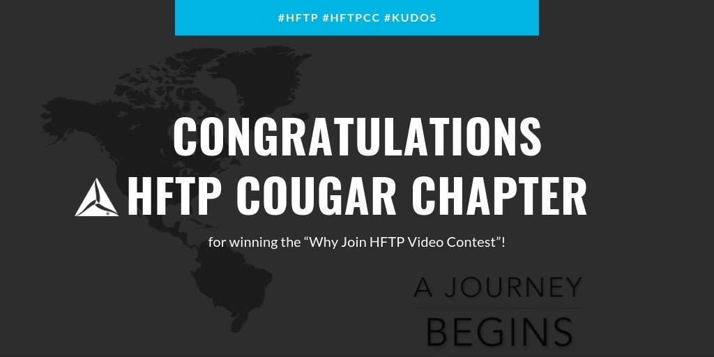 "HFTP Announces HFTP Cougar Chapter of the ""Why Join HFTP"" Video Contest"
